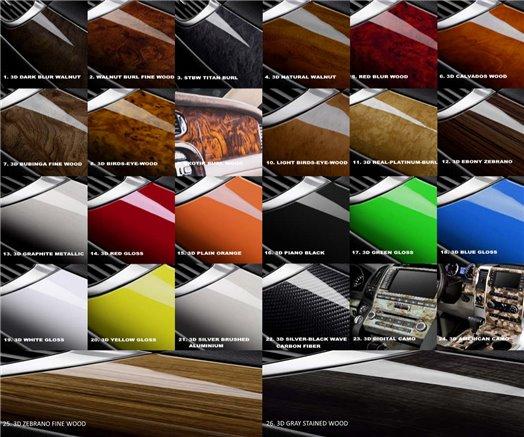 Mitsubishi Colt - Lancer 01.2002 Interior Dashboard Trim Kit Dashtrim accessories, wood grain, camouflage, carbon fiber, aluminu