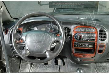 Volkswagen Passat B5.5 Typ 3BG 07.04 - 06.05 Mittelkonsole Armaturendekor Cockpit Dekor 21 -Teile
