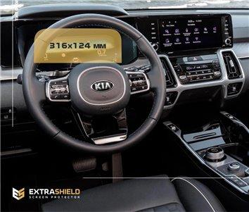 Toyota Hilux MK7 2004–2015 Habillage Décoration de Tableau de Bord 5-Pièce