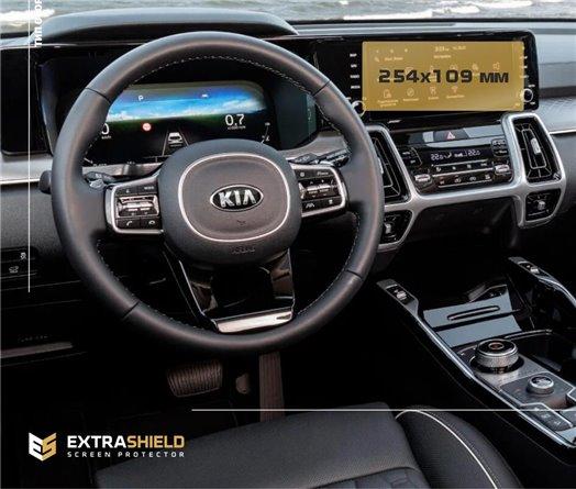 Toyota Hilux MK7 2004–2015 DIGI Exkluzívne Samolepící Dekor Palubnej Dosky 8-Dielny