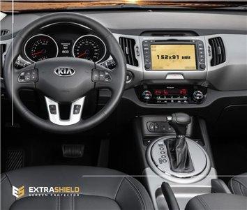Ford Mondeo 01.2012 Exkluzívne Samolepící Dekor Palubnej Dosky 16-Dielny